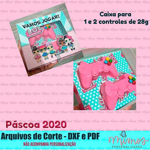 ARQUIVO DE CORTE - Caixa para 1 e 2 Controles