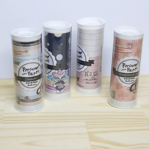 Kit 4 Perfumes para Papel 30ml