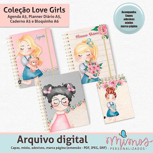 Combo - Coleção Love Girls - Arquivo Digital