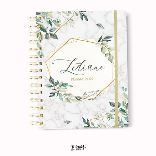 Planner Mimos A5 - Floral verde