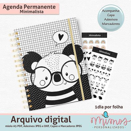 Agenda Permanente Minimalista - Arquivo Digital