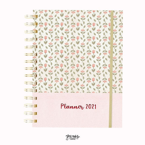 Planner Mimos A5 - Rose Floral
