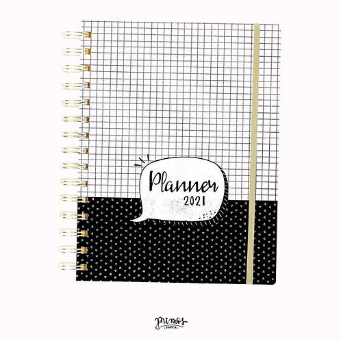 Planner Mimos A5 - Black