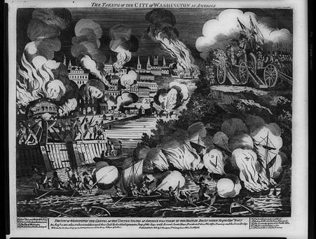 1814년 워싱턴 방화 사건