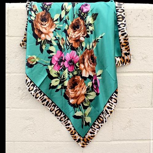 Feisty Floral Wild Rag