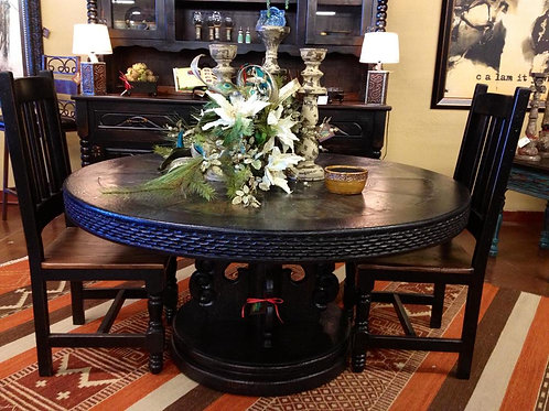 Black Slate Table
