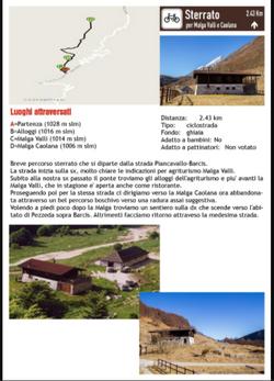 Percorso ciclabile Barcis-Piancavallo