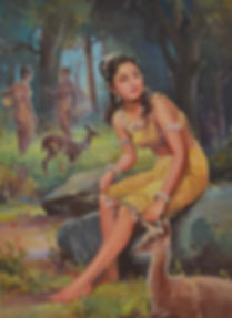 K Madhavan Shakuntala