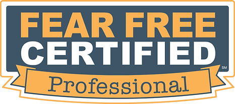 FearFree Certified Professional dog trainer
