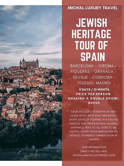 Jewish Heritage Tour of Spain
