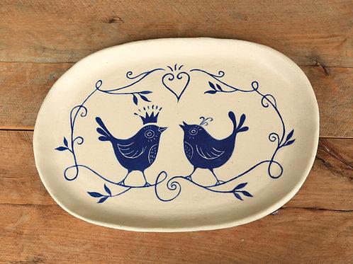Two Little Birds - Small Platter