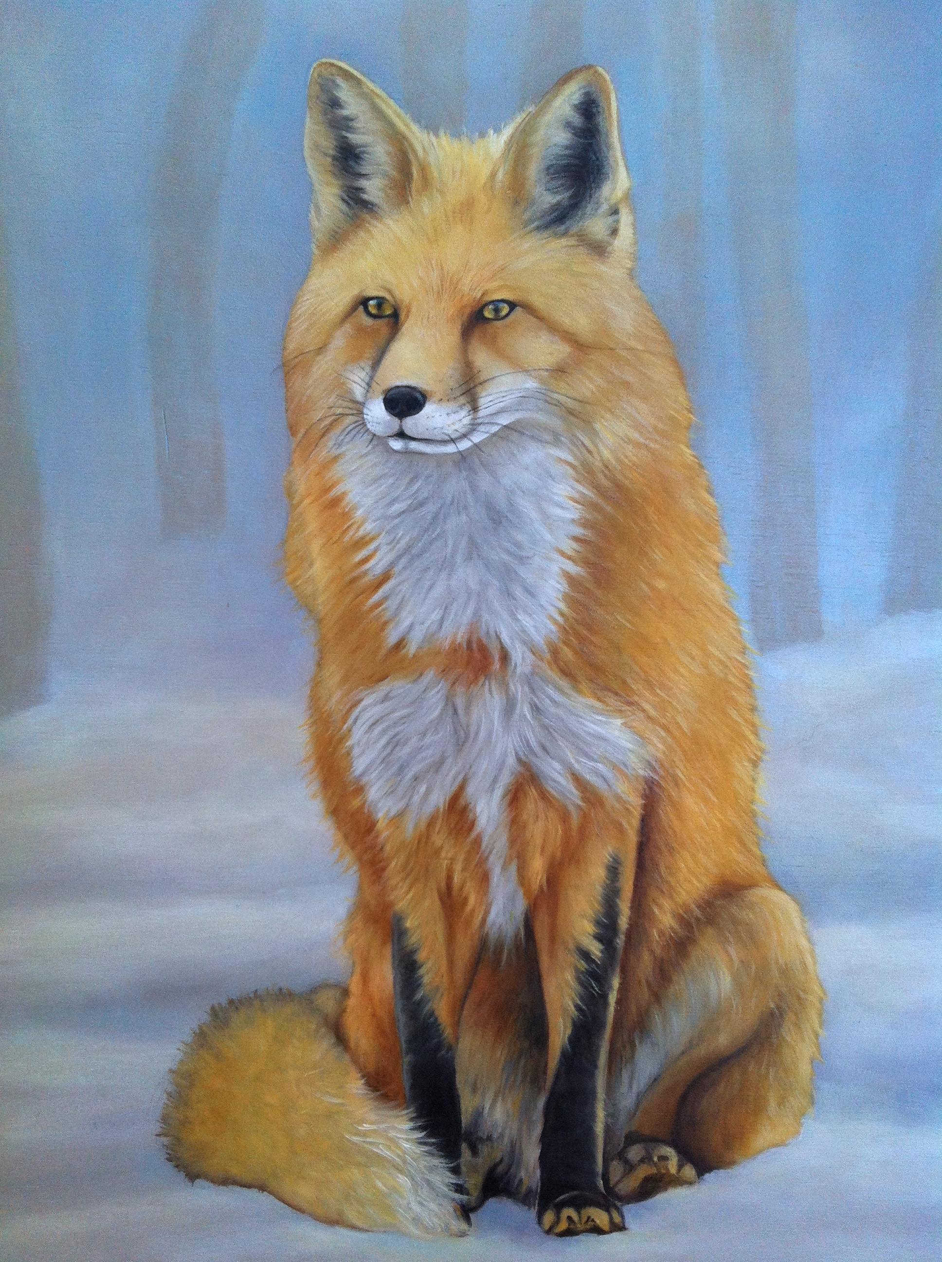 Foxy Fox - Detail