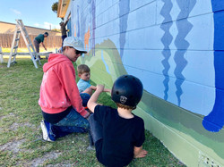 Community paint day at Esperance Scouts Hall