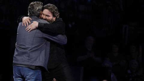 Dave Fenley's Time on The Voice has Ended