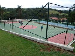 Quadras de Tênis e Poliesportiva