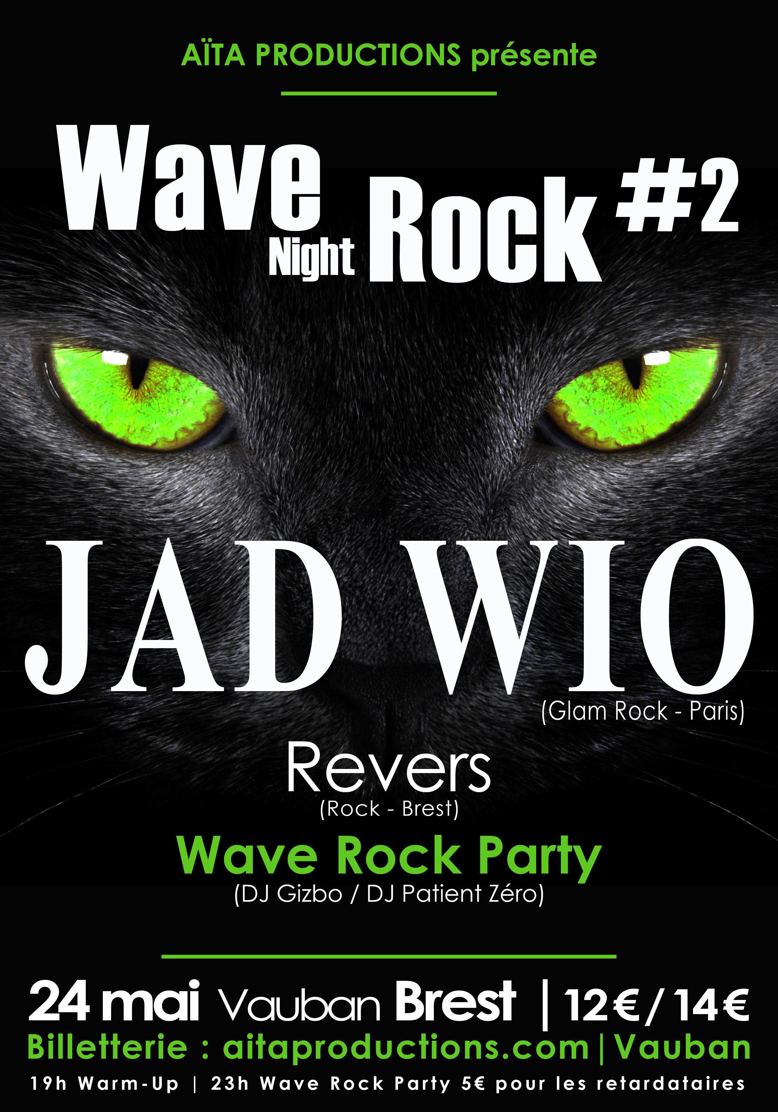 Affiche Wave Rock Night 2