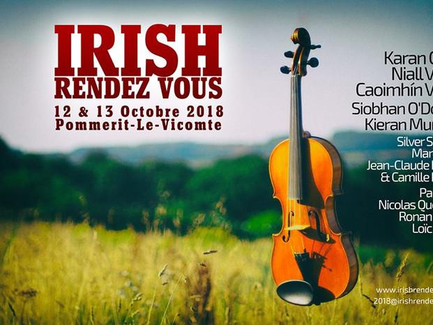 Festival IRISH RENDEZ VOUS 2018