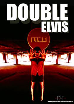 Affiche DOUBLE ELVIS