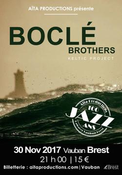 AFFICHE Boclé Brothers