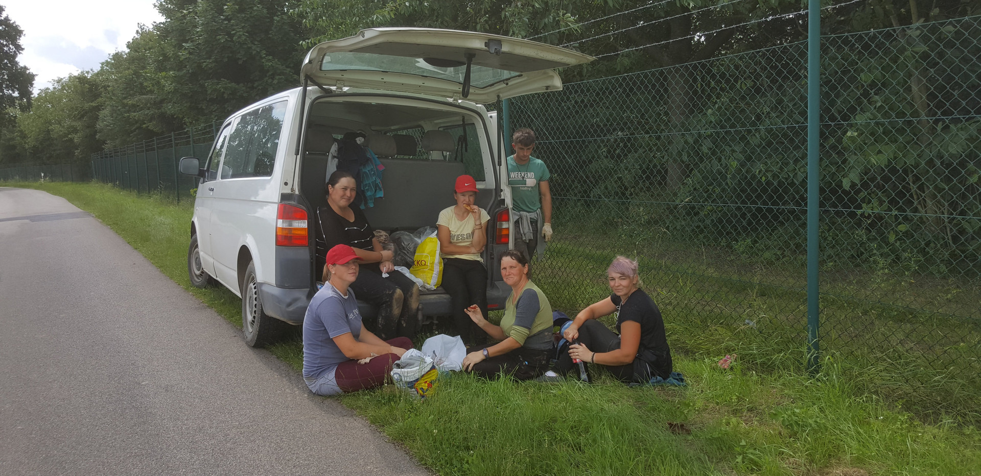 Picknick in der Mittagspause