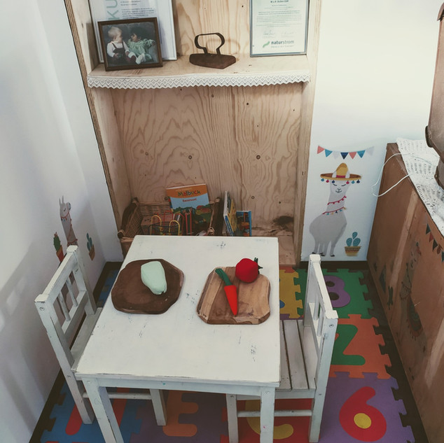 Biohof Bolten Hofcafé Kinderecke