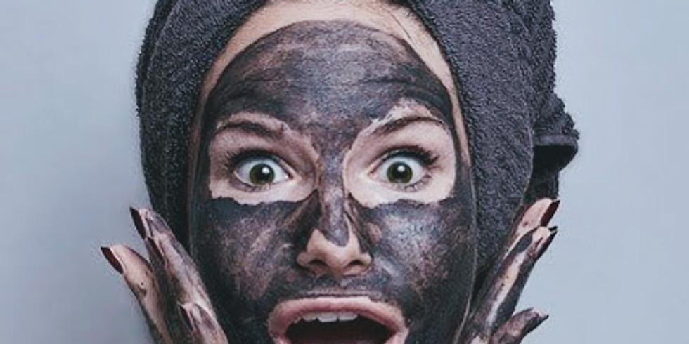 Gesichtspflegebehandlung DIY