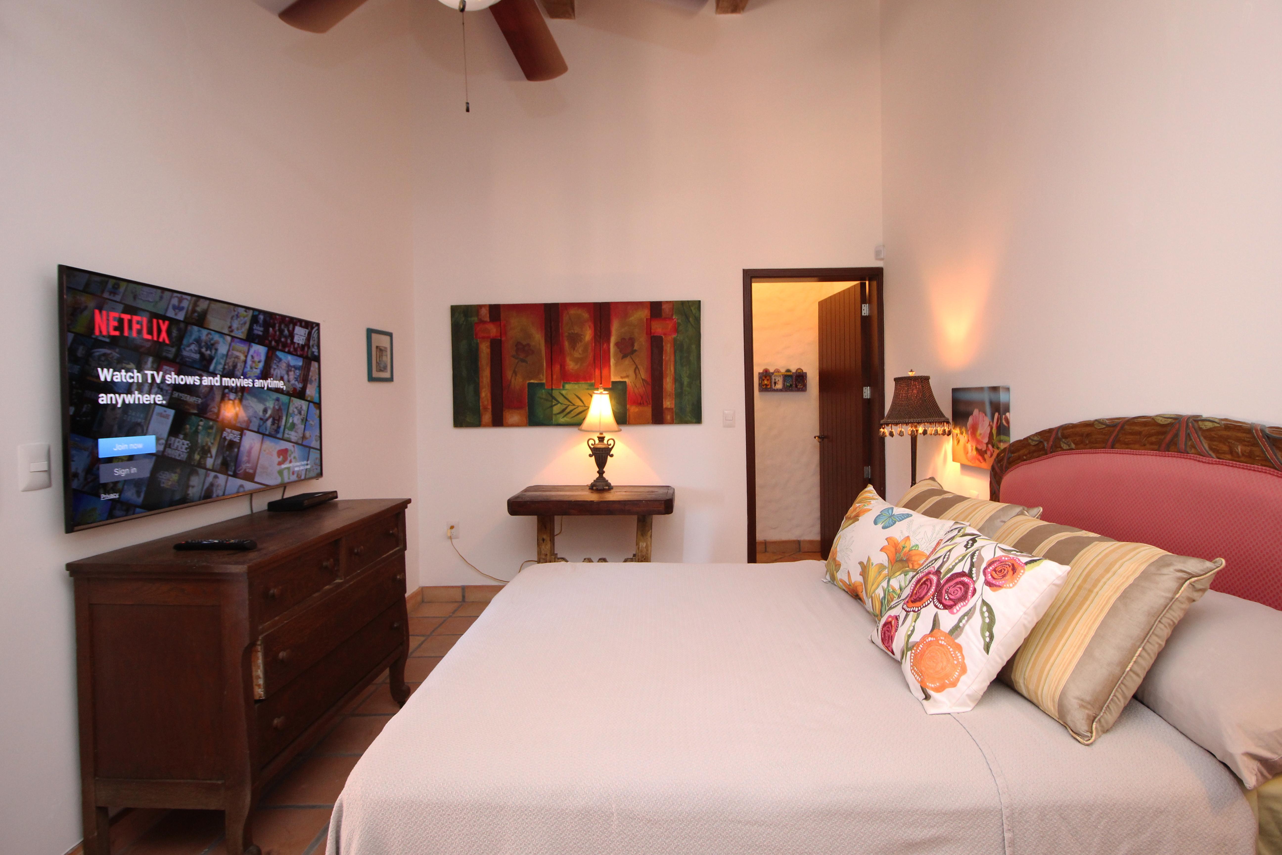 Bedroom on main level.