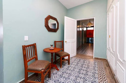 Sittin area in master bedroom.