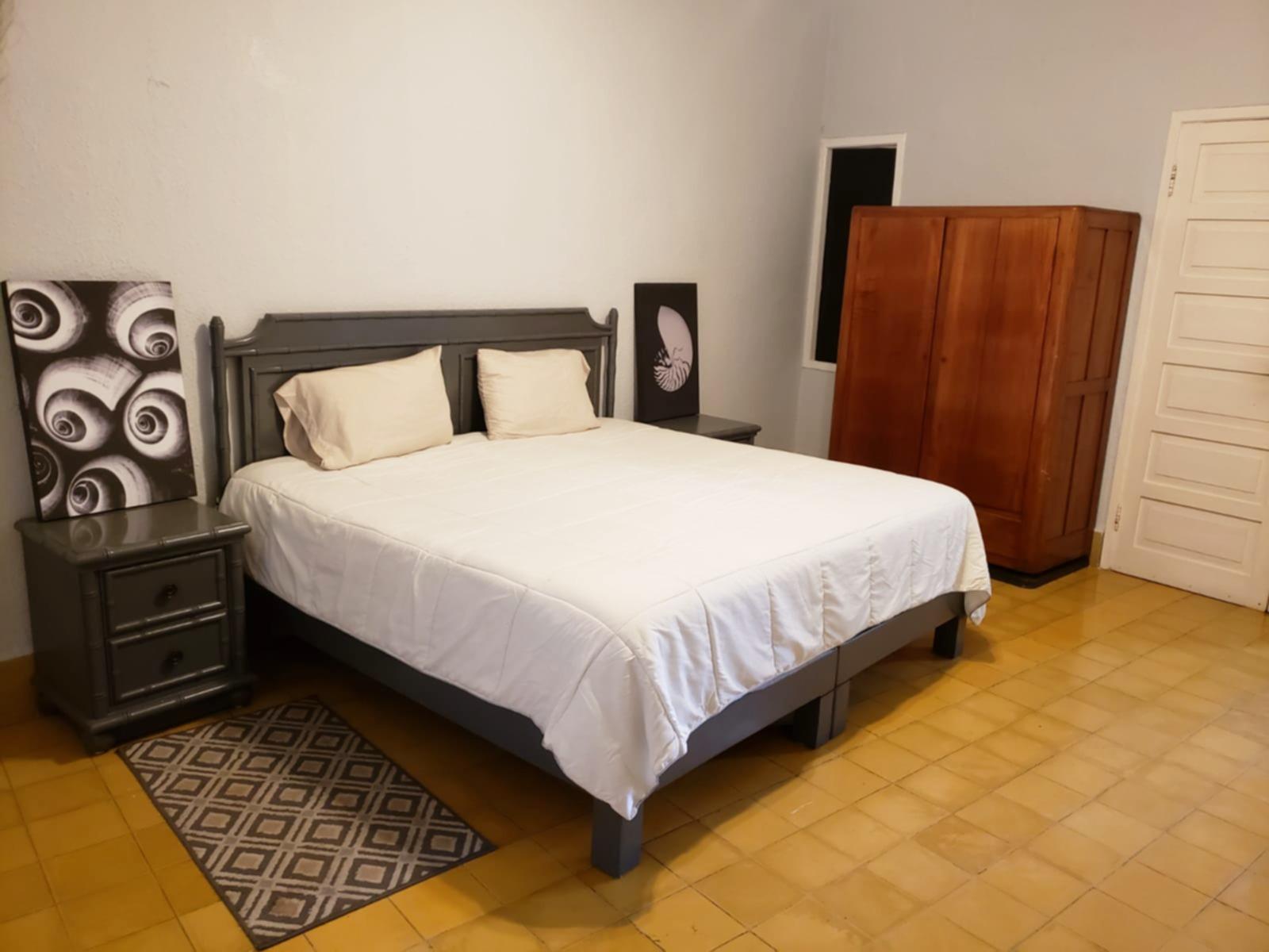 Master bedroom with storage.