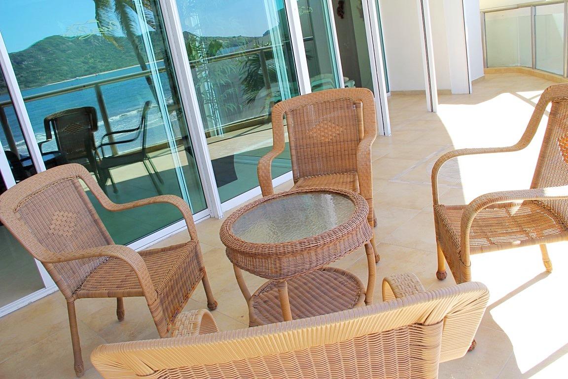 Patio furniture.