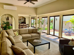 Living room with high-quality furniture.