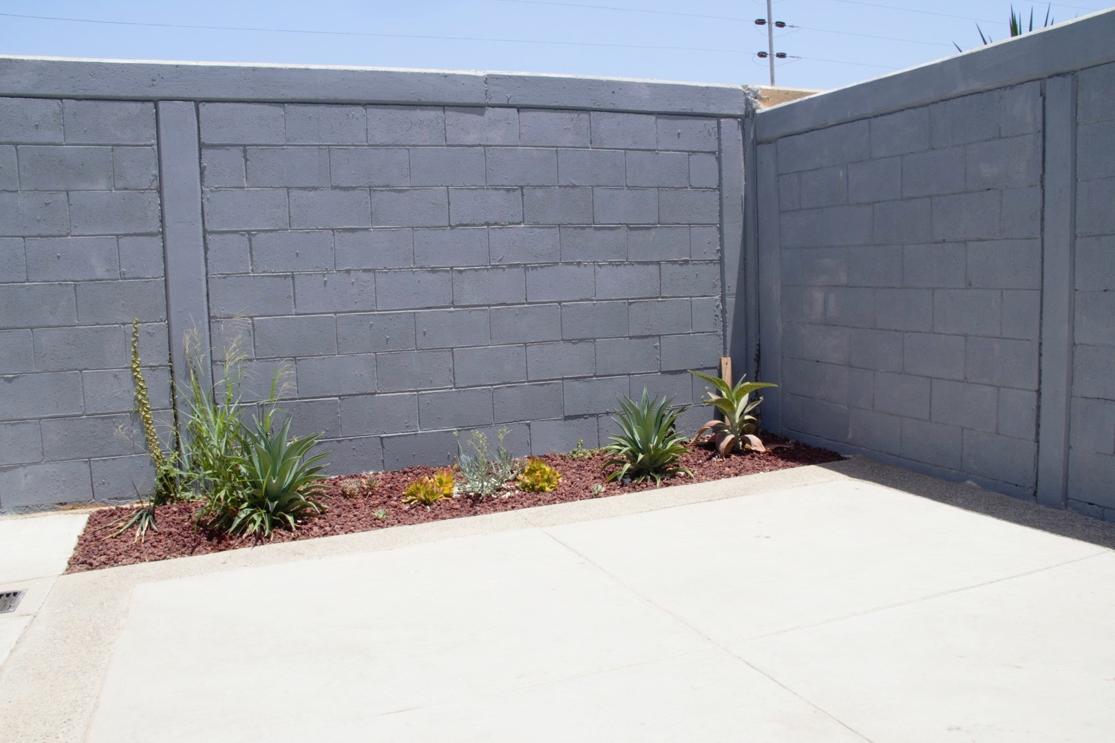 Private patio (furniture not shown).