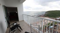 Terrace off of second bedroom with ocean views.