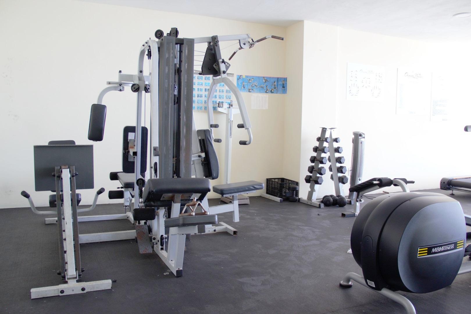 Ocean Palms gym.