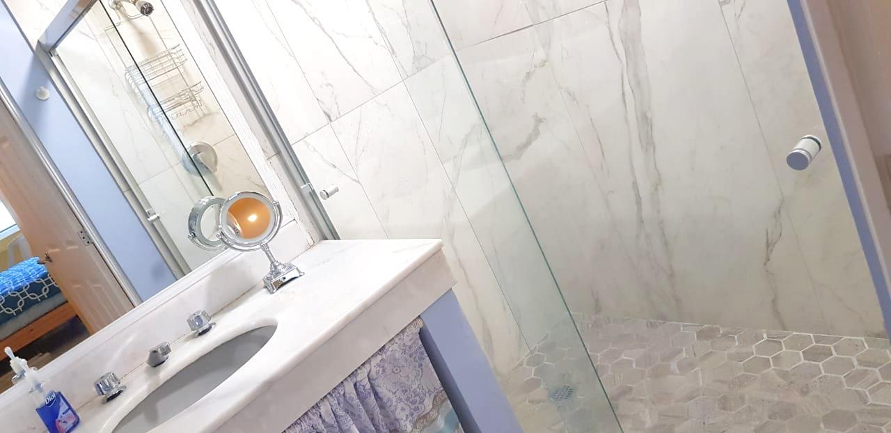 Beautiful updated showers.