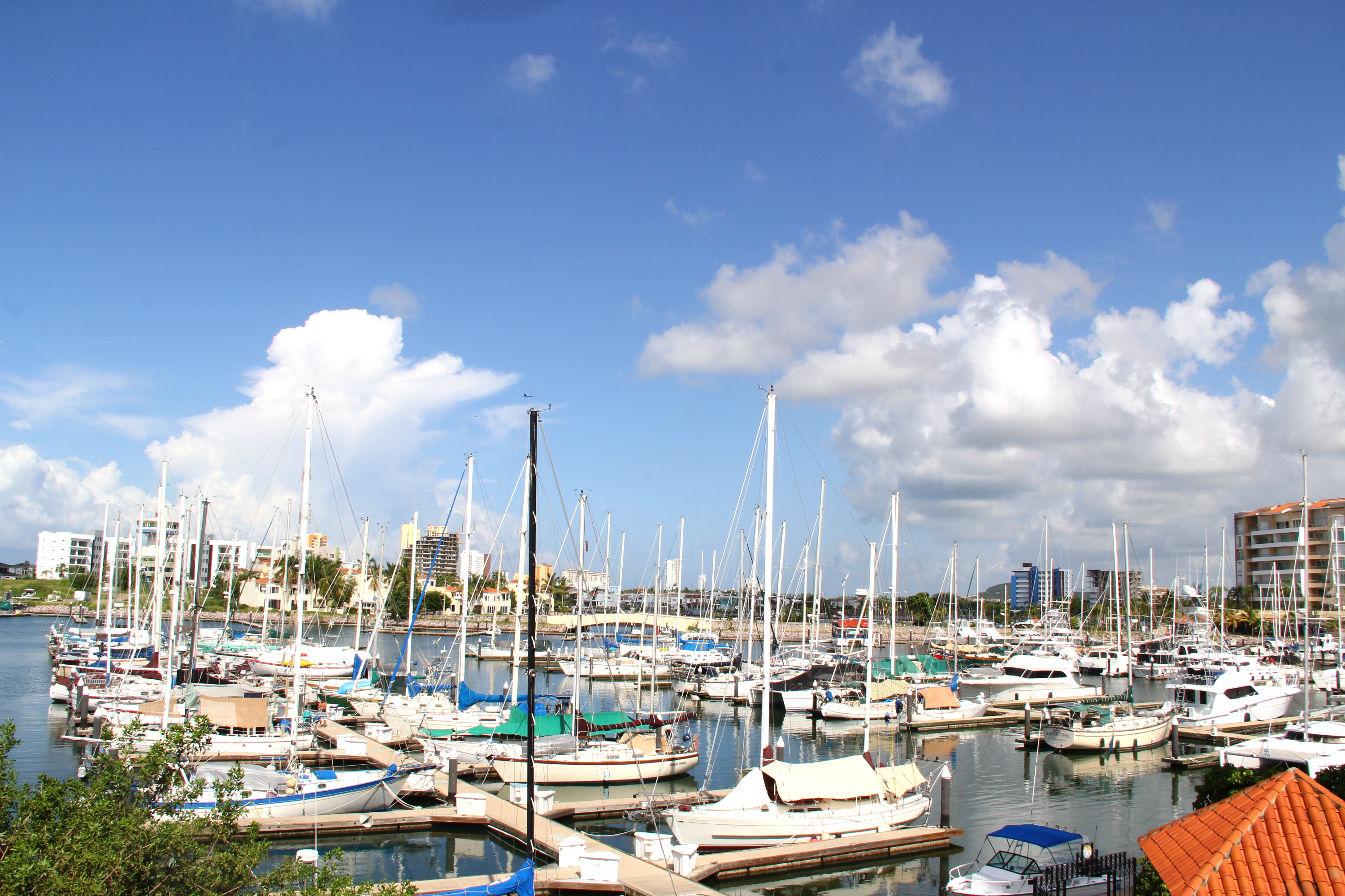 Marina views.