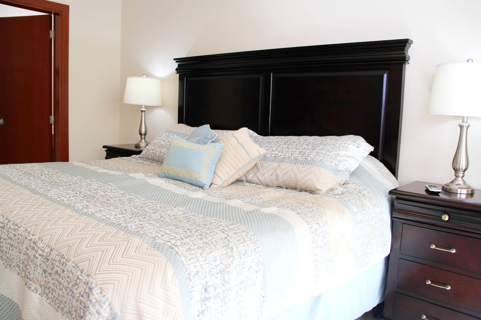 Master bedroom with ensuite.