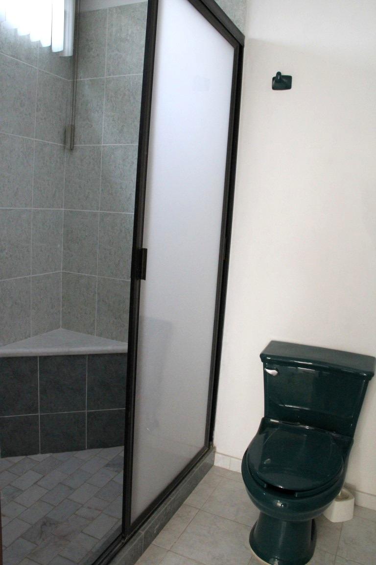 Shower in second bedroom ensuite.