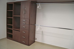 Large closet in 3rd bedroom