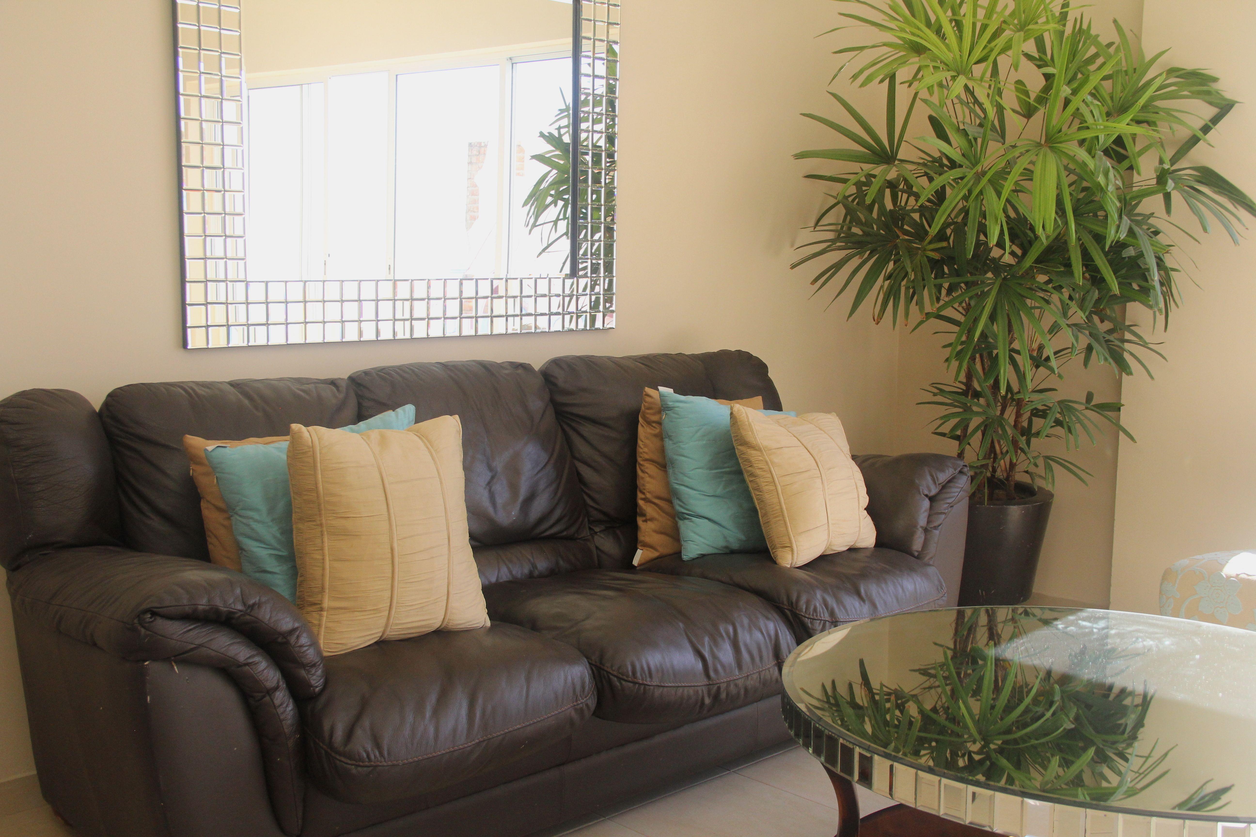 Muebles acogedores en sala
