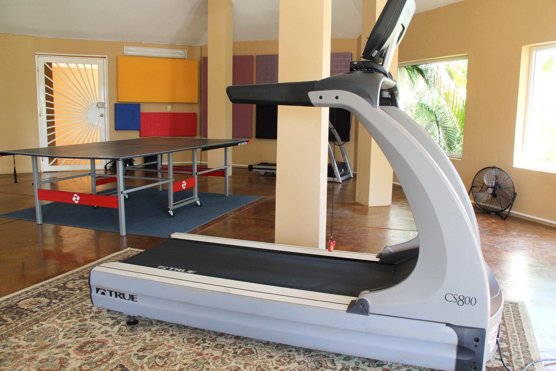 Cardio equipment.