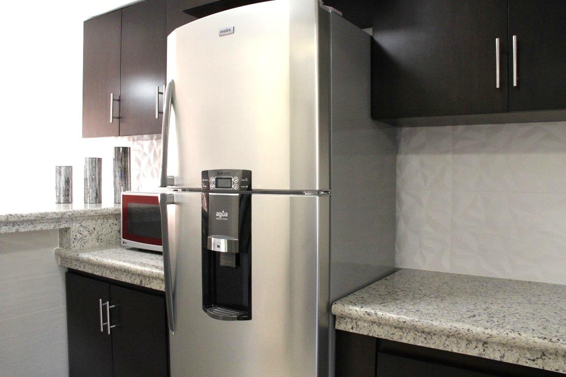 New appliances.