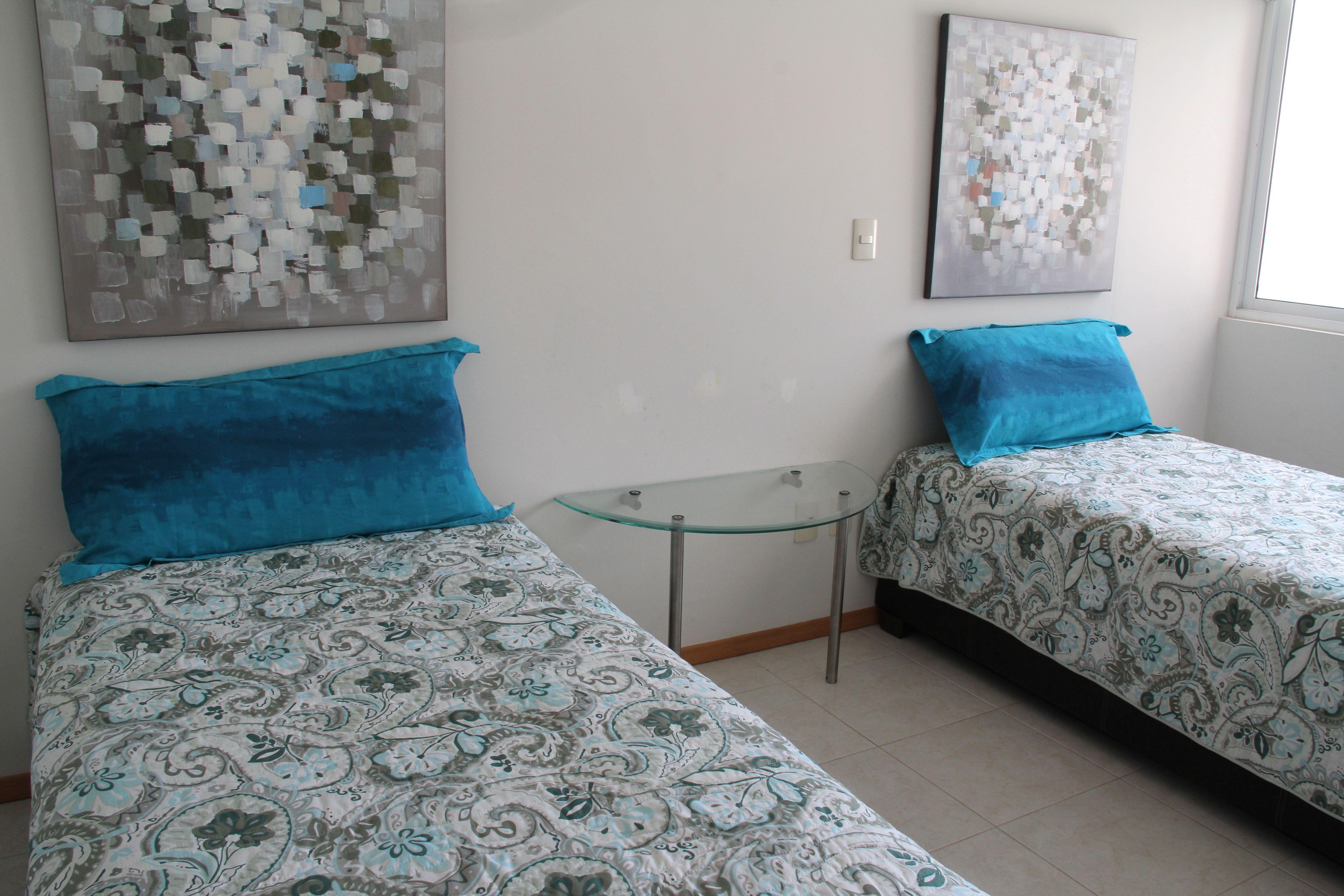 Segunda recamara, camas individuales