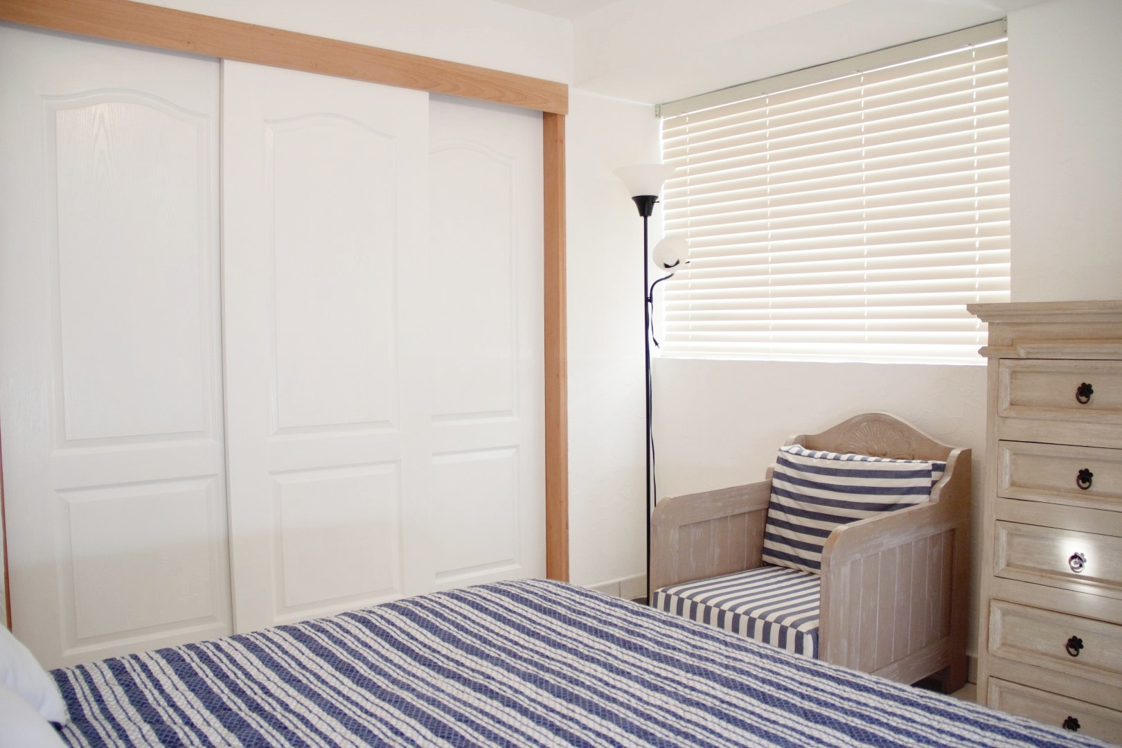 Second bedroom with large closet.