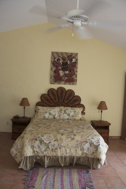 Master bedroom matrimonial bed