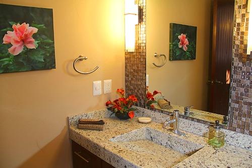 Beautiful bathroom vanity.