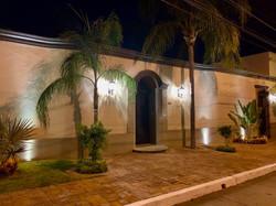 Hacienda El Dorado in the evening.