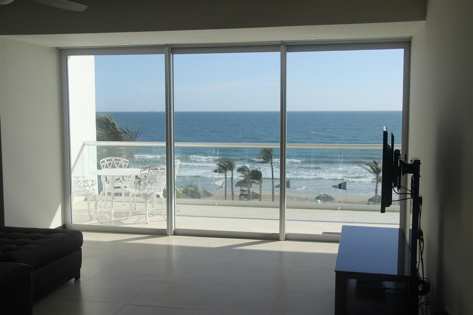 Ocean view from living areas.