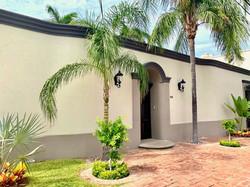 Main entrance to Hacienda El Dorado.