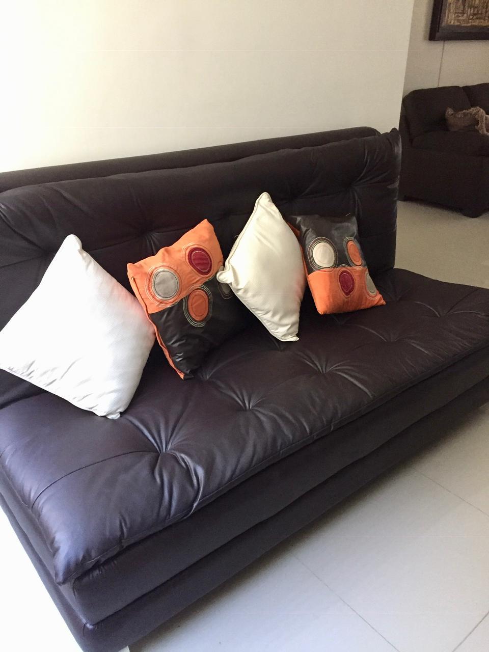 Additional sofa.